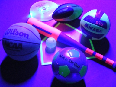 SMALL BALLS-BLACK LIGHT GAMES